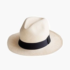 JCrew Panama Hat Size S-M (NWOT)